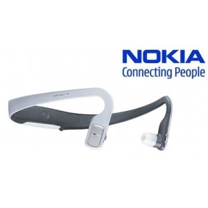 Nokia BH-505 Stereo Bluetooth Headset - White