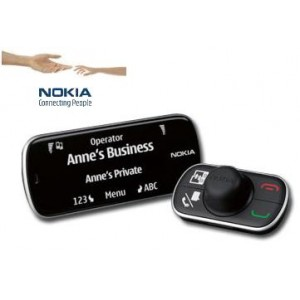 Nokia CK-200 Bluetooth Car Kit with Display Screen & Remote Control