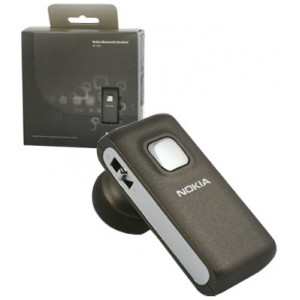 Nokia BH-800 Bluetooth Headset - Brown Coffee