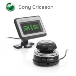 Sony Ericsson HCB-700 Bluetooth Car Kit with Display Screen and Remote Control