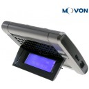 Movon MK10 Bluetooth Sun Visor Car Kit Speakerphone with Display OLED Screen