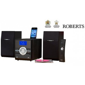 Roberts Sound 70 Digital DAB / FM Radio with CD Player and iPod Dock + USB & SD Card Slot