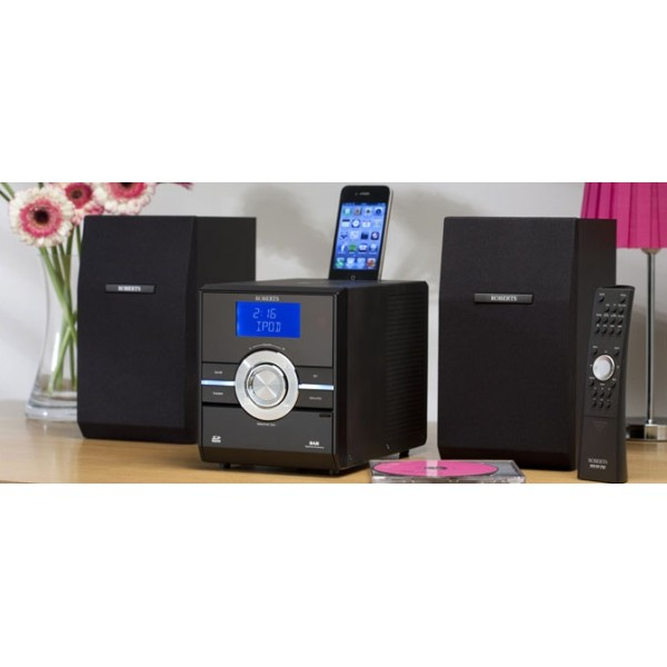 roberts sound 70 digital dab fm radio with cd player and. Black Bedroom Furniture Sets. Home Design Ideas