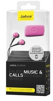 Jabra Clipper Bluetooth Headset - PINK