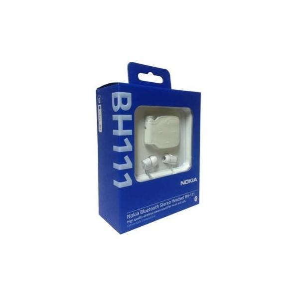 Nokia BH-111 Stereo Bluetooth Headset - White - Harrow ...